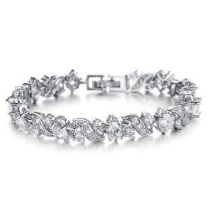Jewelry - CZ Silver Tennis Bracelet | Coming_Soon